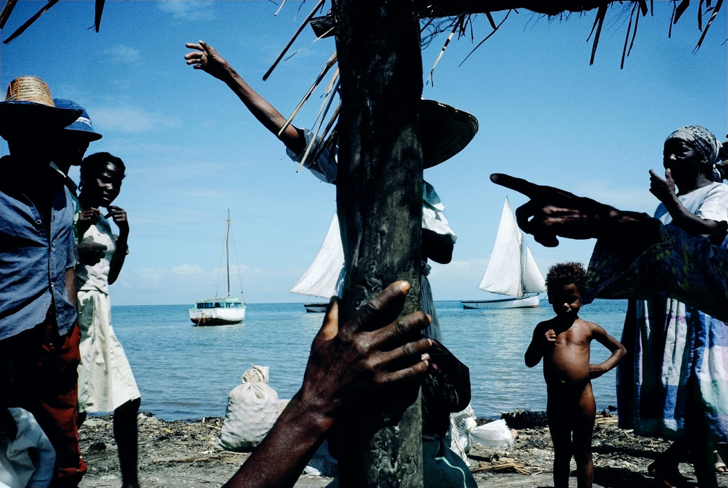 HAITI. Etroits, La Gonave. 1986.